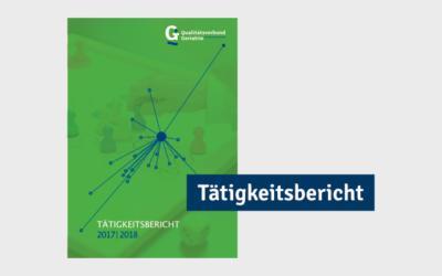 Der Tätigkeitsbericht 2017/2018 ist jetzt verfügbar!